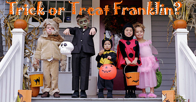 Trick or Treat Franklin?