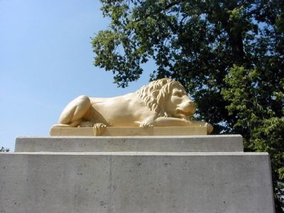 The Lion Bridge's Lion